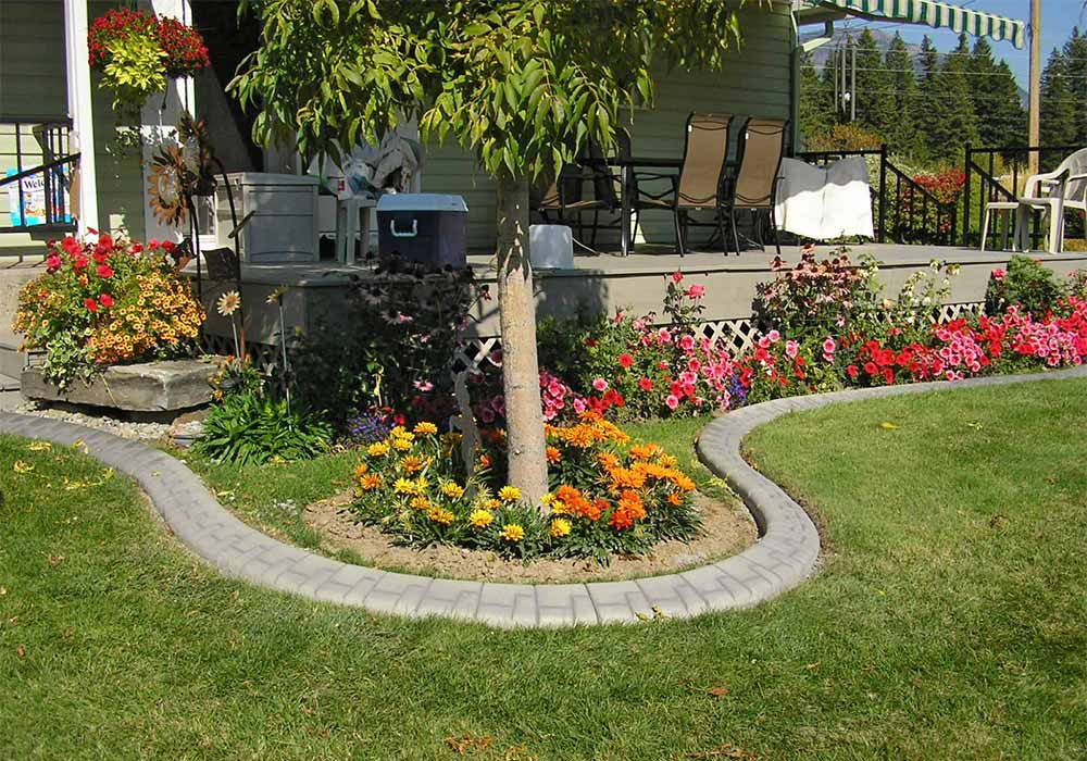 Your Local Leader In Concrete Landscape Edging