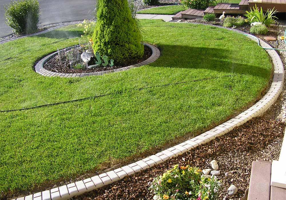 Kwik Kerb Garden Landscape Edging Residential Commercial - Design continuous free form concrete landscape edging by kwik kerb